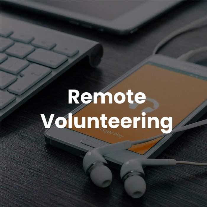 Remote Volunteering