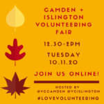 Camden & Islington Online Volunteering Fair